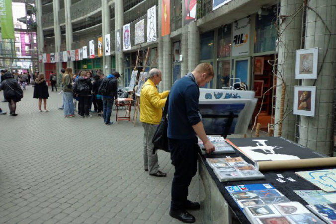 polish poster gallery, warsaw poster biennial, exhibition buw 2014