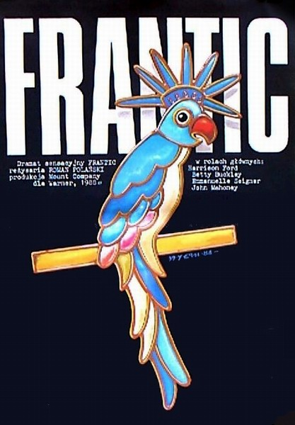 Film Movie Poster Frantic Erol Jakub 1987 Poster Pl Gallery