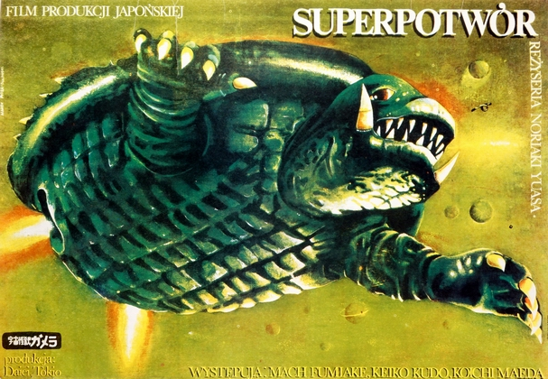 Superpotwor, Gamera Super Monster , Ploza Dolinski Marek