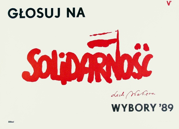 Glosuj na Solidarnosc - Lech Walesa, Vote for Solidarity - Lech Walesa, unk