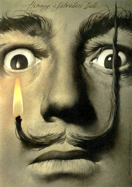 Hommage a Salvador Dali, Tribute to Salvador Dali, Walkuski Wieslaw